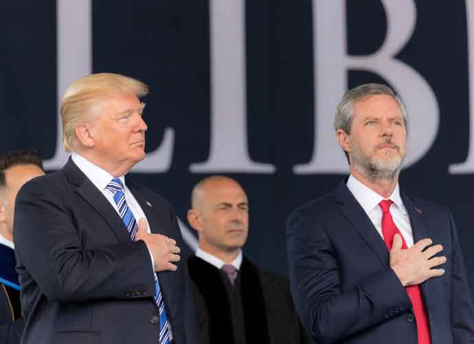 After Jerry Falwell Jr. Orders Liberty University To Reopen, 12 Students Fall Sick With COVID-19 Symptoms