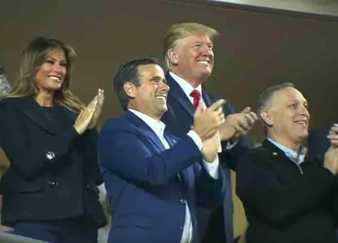 World Series Game 5 Crowd Boos Trump At Nationals Park, Chants 'Lock Him Up!' [VIDEO]