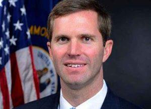 Kentucky Gov. Andy Beshear (D) (Image: Wikipedia)
