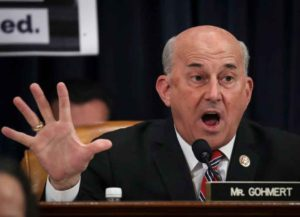 WASHINGTON, DC DECEMBER 11: Rep. Louie Gohmert (R-TX) delivers his opening statement during a House Judiciary Committee markup hearing on the articles of impeachment against U.S. President Donald Trump in the Longworth House Office Building on Capitol Hill December 11, 2019 in Washington, DC. (Image: Getty)