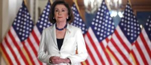 WASHINGTON, DC - DECEMBER 05: Speaker of the House Nancy Pelosi (D-CA) announced that the House will proceed with articles of impeachment against President Donald Trump at the Speaker's Balcony in the U.S. Capitol December 05, 2019 in Washington, DC. (Image: Getty)