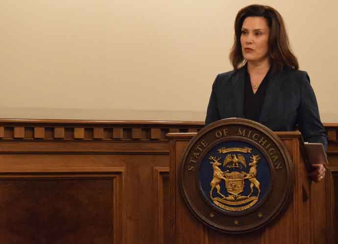 Michigan Democratic Gov. Gretchen Whitmer Gives Democratic ...