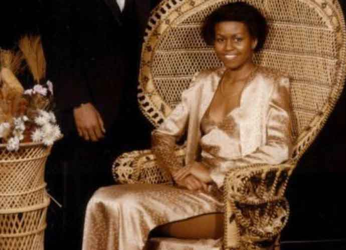Michelle Obama Shares Prom Dress Photos To Encourage Voting