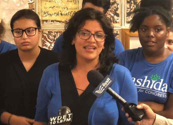 Rep. Rashida Tliab Boos Hillary Clinton At Bernie Sanders Rally, Then Apologizes