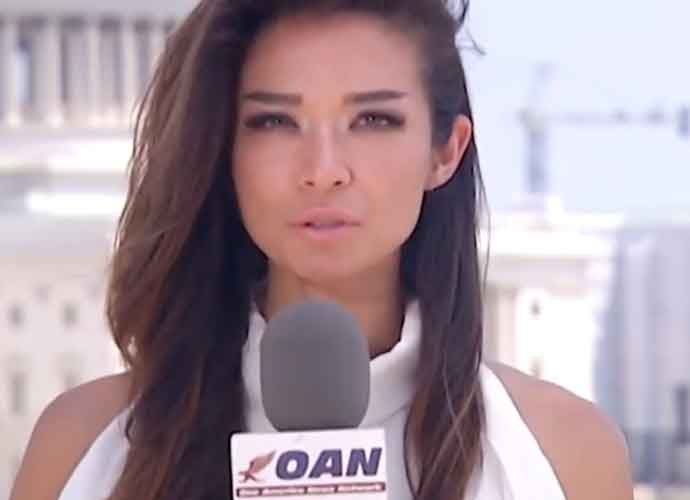 OAN Reporter Chanel Rion Criticized For Asking Trump If ...