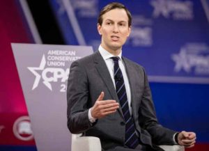 NATIONAL HARBOR, MD - FEBRUARY 28: Jared Kushner, senior advisor to U.S. President Donald Trump, speaks at the Conservative Political Action Conference 2020 (CPAC) hosted by the American Conservative Union on February 28, 2020 in National Harbor, MD. (Image: Getty)