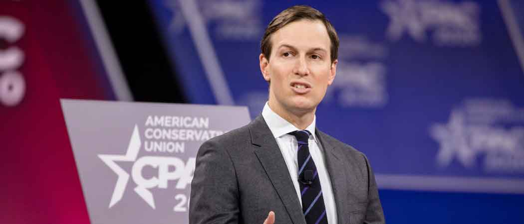 Trump Upset At Jared Kushner For 'Woke' Advice On Criminal Justice Reform