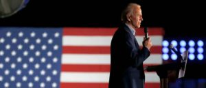 DALLAS, TX - MARCH 02: Democratic presidential candidate former Vice President Joe Biden speaks during a campaign event on March 2, 2020 in Dallas, Texas. Biden continues to campaign before the upcoming Super Tuesday Democratic presidential primaries