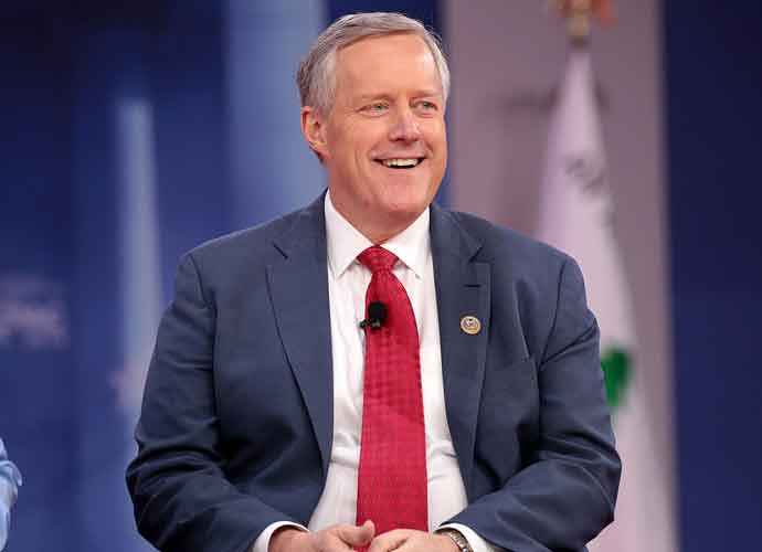 Trump's Chief Of Staff Mark Meadows Says They Had A Meeting With 'Cabinet Members'