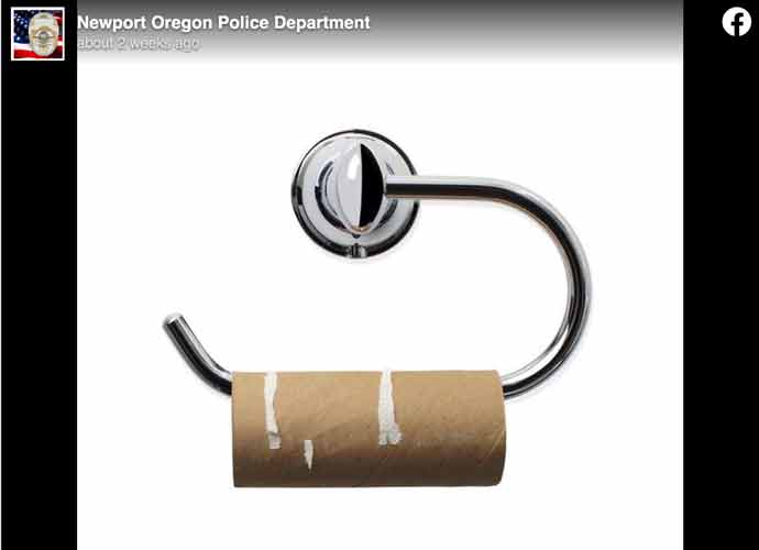 Oregon Police Tell Residents To Stop Dialing 911 Over Toilet Paper Shortages
