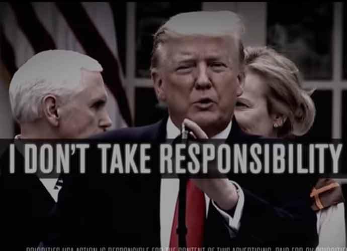 Watch: Democratic Super PAC Ads Trash Trump's Response To Coronavirus Pandemic