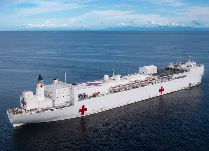 U.S. Navy Ships & Hospital Units Deployed To Assist In Coronavirus Response