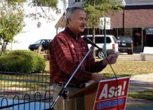 Arkansas Gov. Asa Hutchinson (R) (Image: Getty)