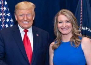 Trump's Campaign Legal Advisor Jenna Ellis (Image: Twitter)