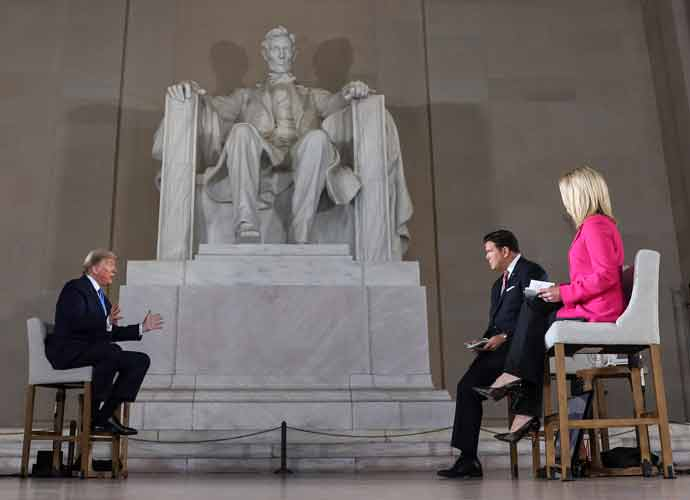 Trump Got Special 'Coronavirus' Exception From Regulations For Fox News Interview At Lincoln Memorial