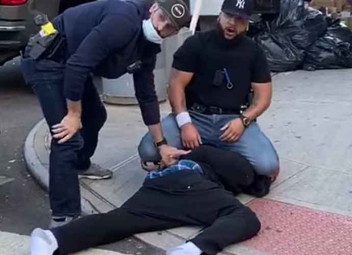 Video Shows New York Police Violently Enforcing Social Distancing Rules