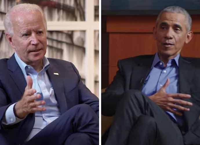 WATCH: Socially Distanced Conversation Between Barack Obama & Joe Biden Is Latest Campaign Ad