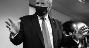 Trump Tweets His Photo Wearing A Mask, Calling It 'Patriotic'
