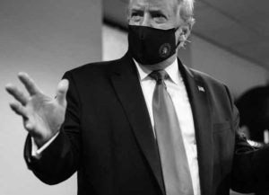 Trump Tweets His Photo Wearing A Mask, Calling It 'Patriotic'