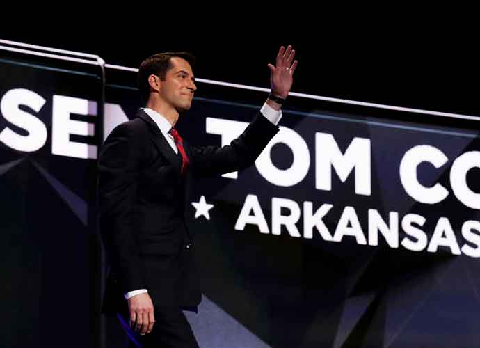 Sen. Tom Cotton Clarifies Comments Calling Slavery 'A Necessary Evil'