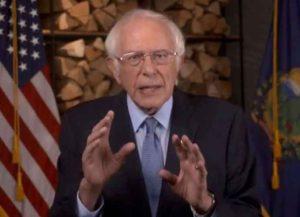 Bernie Sanders speech at 2020 DNC (Image: YouTube)