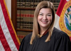 Florida Supreme Court Justice Barbara Lagoa