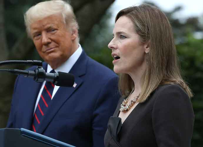 U.S. Senate Confirms Amy Coney Barrett As Supreme Court Justice By 52-48 Vote