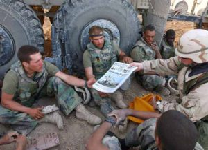 Stars And Stripes delivered to troops