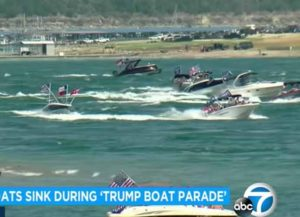 5 Boats Sink During Lake Travis Trump Boat Parade In Texas