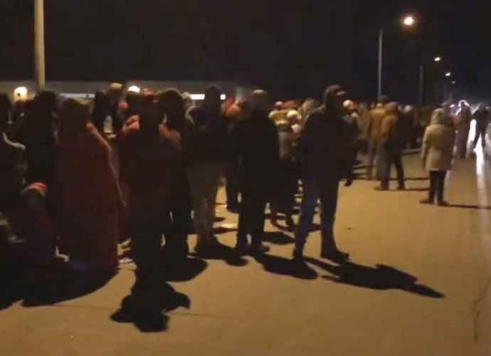 Thousands Of Trump Rally Attendees Stranded 30-Degree Cold In Omaha, Some Hospitalized