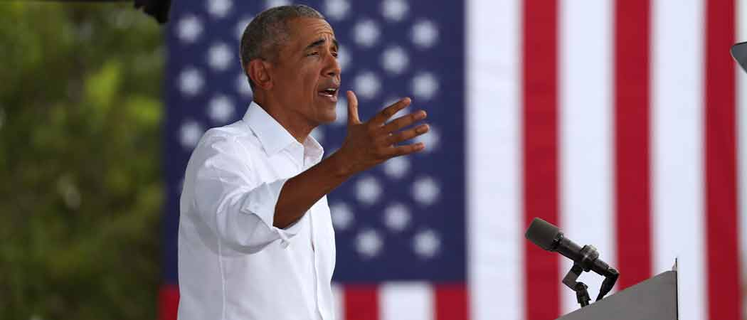 WATCH: Obama Attacks Trump For 'Secret Chinese Bank Account'