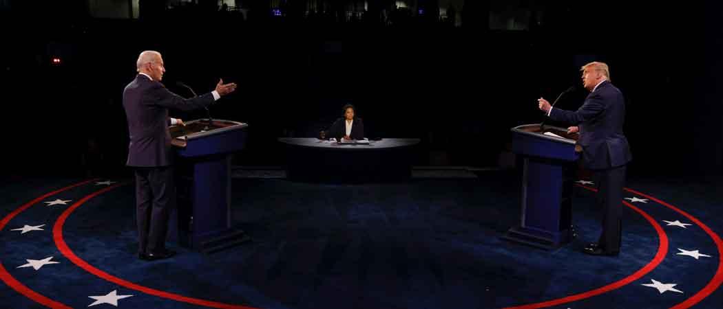 Biden Wins Final Presidential Debate Against Trump In Snap Poll