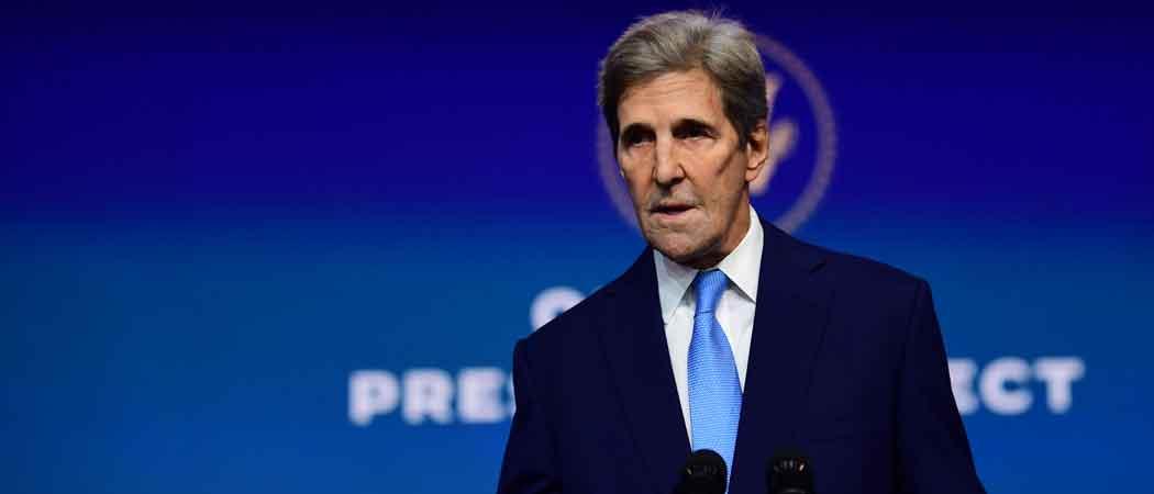 Biden Taps John Kerry As U.S. Climate Envoy