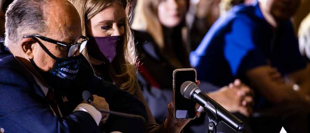Trump Addresses By Speakerphone GOP 'Voter Fraud' Hearing In Pennsylvania