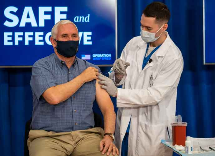 Mike Pence Receives COVID-19 Vaccine Live On Television