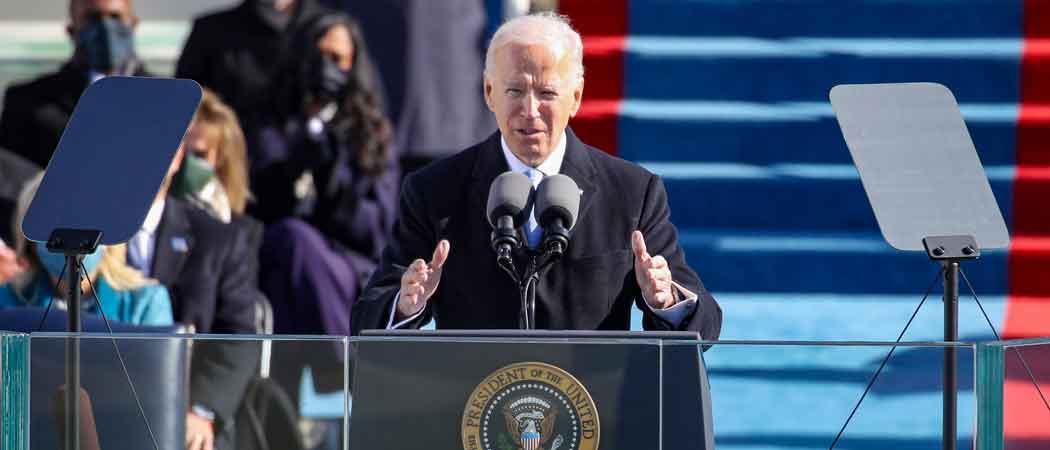 Joe Biden Sworn In As 46th President Of The United States Of America