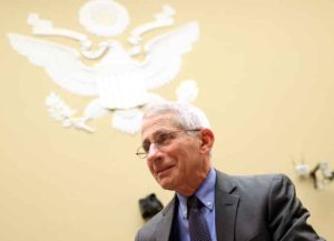 """WASHINGTON, DC - MARCH 12: Anthony Fauci, director of the NIH National Institute of Allergy and Infectious Diseases appears during a House Oversight and Reform Committee hearing on """"Coronavirus Preparedness and Response at the Rayburn House Office Building on March 12, 2020 in Washington, DC. Health officials say 11,000 people have been tested for the Coronavirus (COVID-19) in the U.S. (Photo by Win McNamee/Getty Images)"""