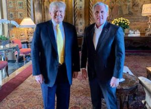 Kevin McCarthy Meets With Trump At Mar-A-Lago After Saying EX President 'Bears Responsibility' For Capitol Riots (Photo: Instagram)