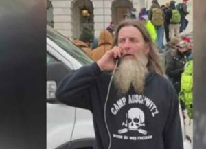 Robert Keith Packer, Man Who Wore 'Camp Auschwitz' Hoodie At Capitol Riots, Arrested