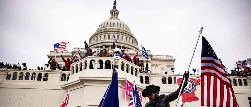 Extremist Groups May Target The Capitol March 4, F.B.I. & D.H.S. Warn