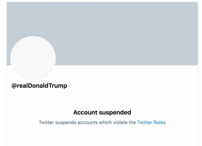 Twitter Permanently Suspends Trump Due To 'Risk Of Further Incitement Of Violence'