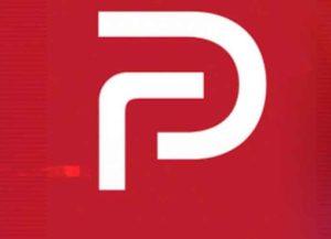 Parler's logo (Image: Parler)