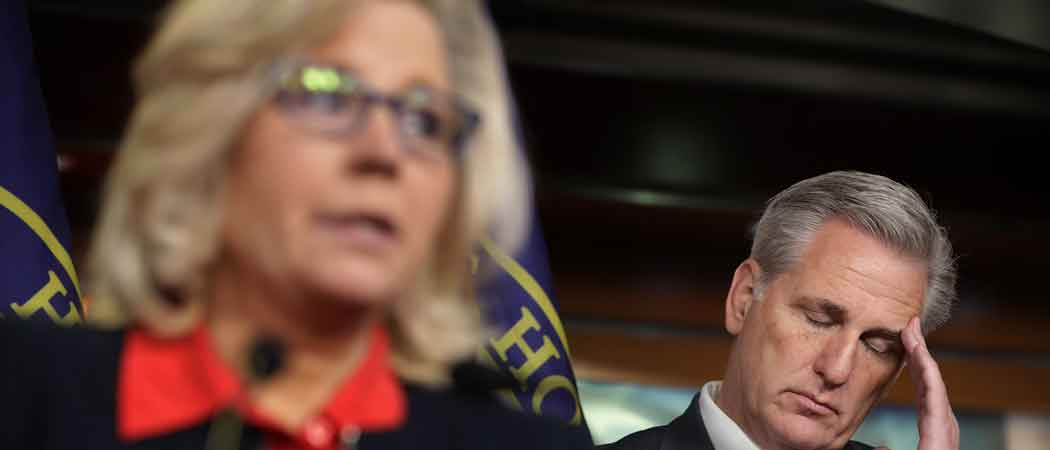 Allies Of Minority Leader Kevin McCarthy Vow To Oust Rep. Liz Cheney After Anti-Trump Comments