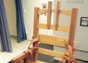 Florida's electric chair (Image: WIkipedia