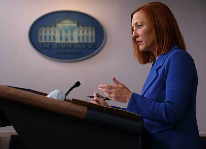 White House Press Secretary Jen Psaki's Space Force Joke Draws Fire From Republicans