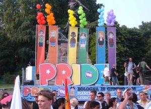 LQBT Pride Parade in Palco Bologna, Italy (Image: Wikimedia)