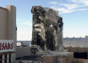 WATCH: Trump Plaza, Once Center Of Trump Empire, Demolished In Atlantic City (Image: YouTube)