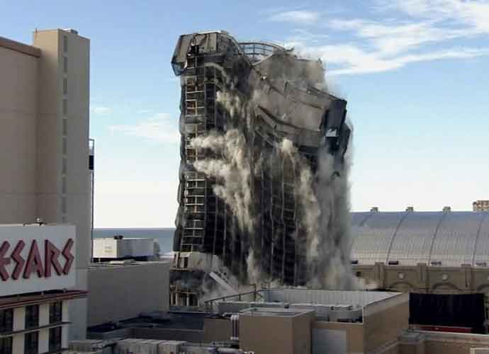 WATCH: Trump Plaza, Once Center Of Trump Empire, Demolished In Atlantic City