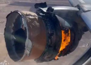 United Airlines Boeing 777 Engine Fails En Route To Hawaii, FAA Demands Inspection (Image: Storyful)