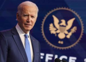 WILMINGTON, DELAWARE - DECEMBER 11: U.S. President-elect Joe Biden speaks during an event to announce new cabinet nominations at the Queen Theatre on December 11, 2020 in Wilmington, Delaware. President-elect Joe Biden is continuing to round out his domestic team with the announcement of his choices for cabinet secretaries of Veterans Affairs and Agriculture, and the heads of his domestic policy council and the U.S. Trade Representative. (Photo by Chip Somodevilla/Getty Images)